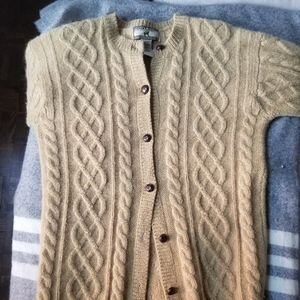 Point Zero 100% wool cardigan